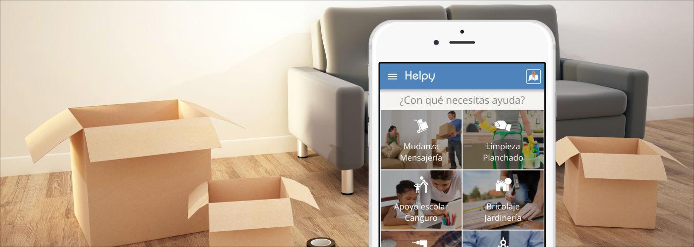 Helpy, la app que te echa una mano