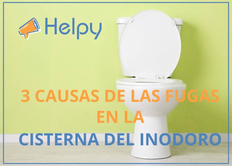 Arreglar cisterna del inodoro 3 Causas de las fugas en la cisterna del inodoro