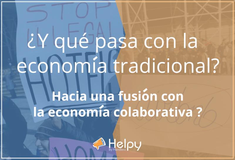 ¿Y qué pasa con la economía tradicional? Hacia la fusión con el consumo colaborativo