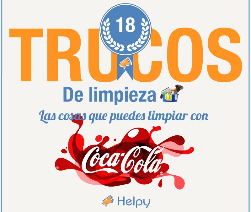 Trucos de limpieza : 18 cosas que puedes limpiar con Coca Cola